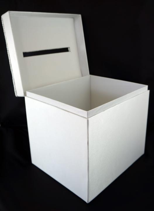 Darice Wedding Satin Card Box | Doozie Weddings