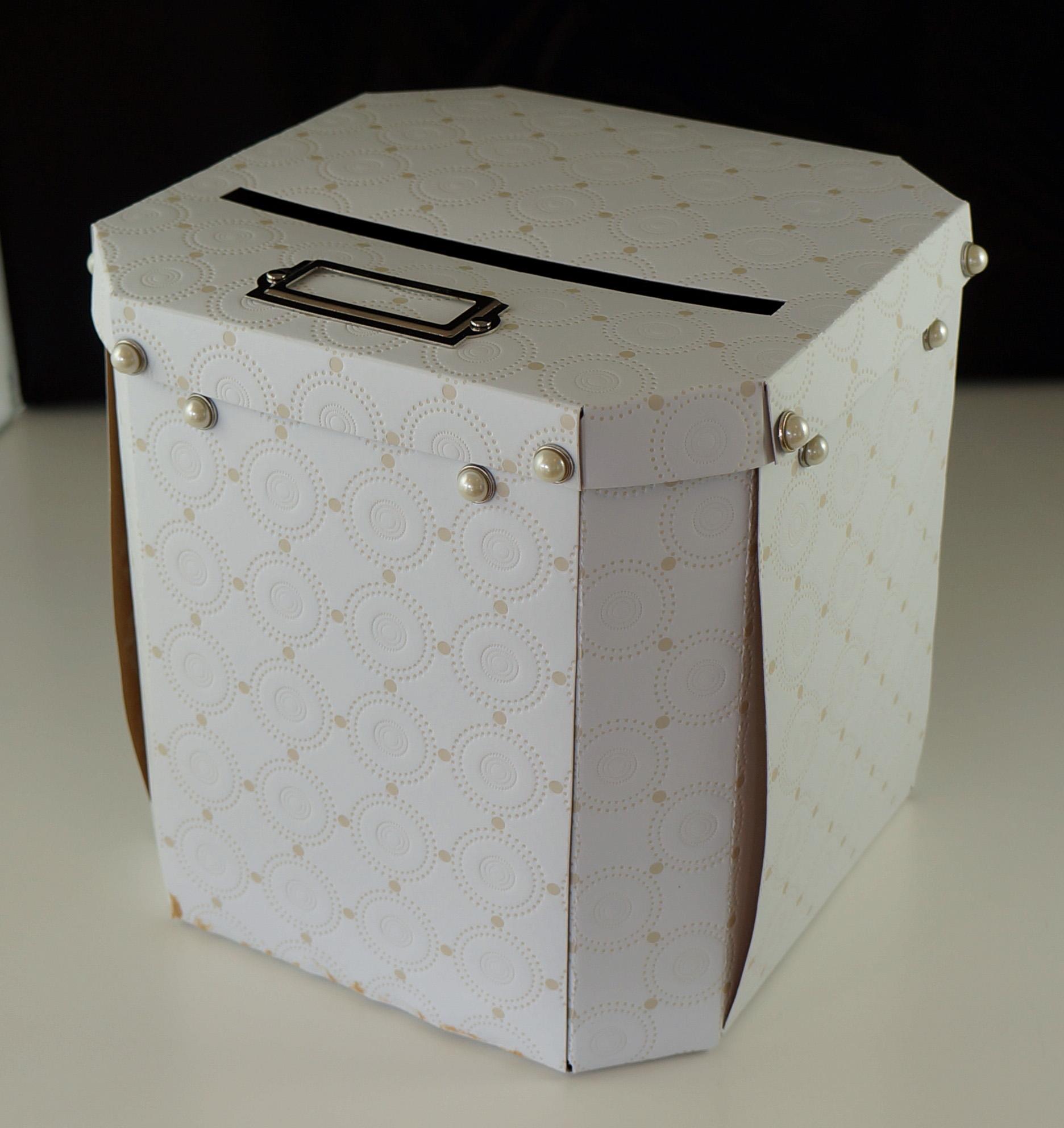 Wilton Ornate Pearl Card Holder Box Doozie Weddings