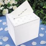 Darice Wedding Satin Card Box