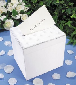 Darice Wedding Satin Card Box