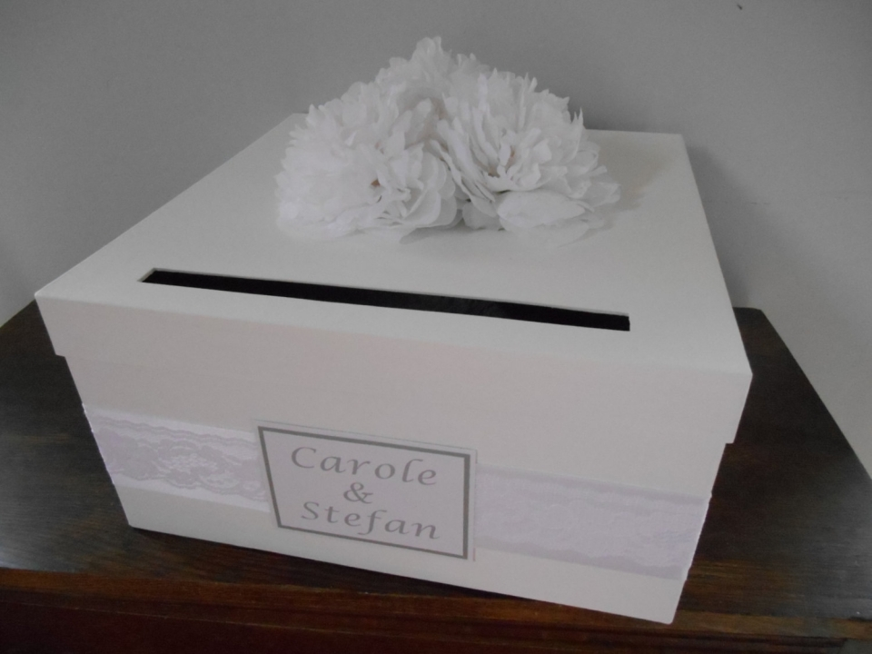 Bought wedding card box cost $89